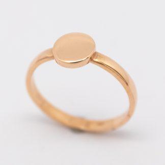 9ct Rose Gold Circle of Love Ring_0