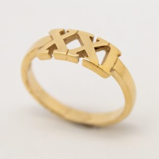 9ct Gold 21st Ring_0
