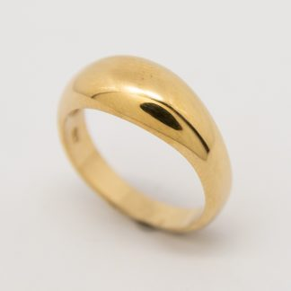 9ct Gold Dome Ring_0