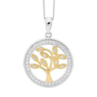 STG Tree of Life Pendant w/ Gold Plating_0