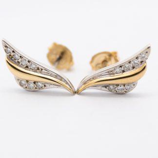 9ct Diamond Earrings_0