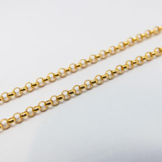 9ct Yellow Gold Belcher Chain_0
