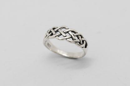 Stg/silver Celtic Ring_0