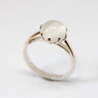 Stg/silver Moonstone Dress Ring_0