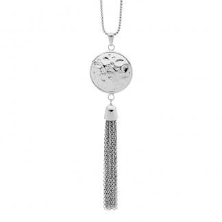 S/Steel Tassle Pendant_0