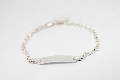 Stg/silver ID Bracelet_0