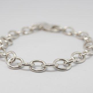 Stg Handmade Oval Link Bracelet_0