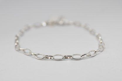 Stg Oval Belcher Bracelet_0