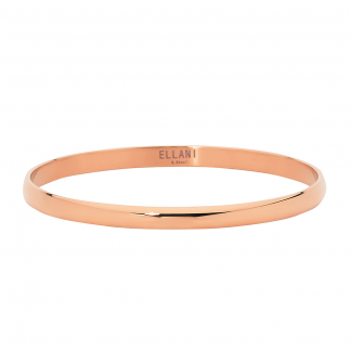 S/Steel Rose Gold Plated Bangle_0