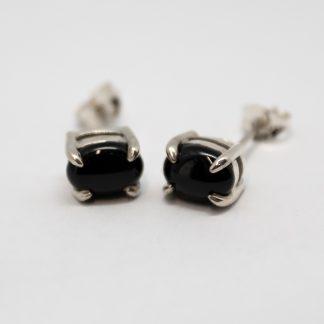 Stg Black Onyx Claw Studs_0