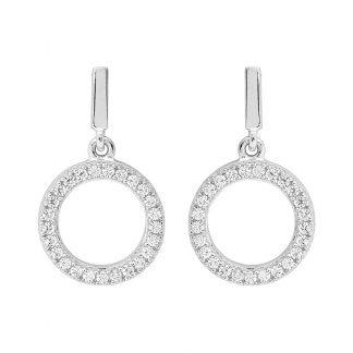 Stg Drop Circle Earrings_0