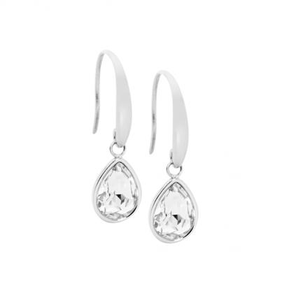 S/Steel Tear Drop Earrings_0