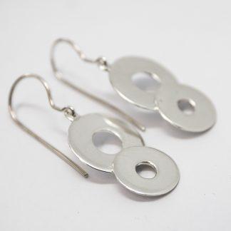 Stg Double Disc Earrings_0