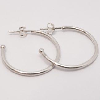STG 28mm Hoop Earrings for Opposites Collection_0