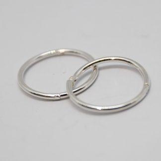 Stg/silver Sleeper Earring_0