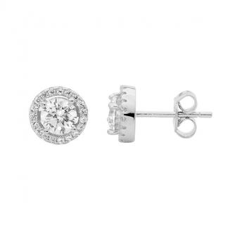 STG CZ Stud Earrings_0