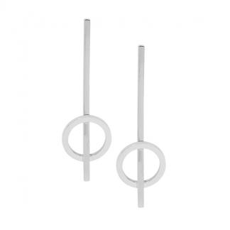 S/Steel Drop Bar Earrings_0