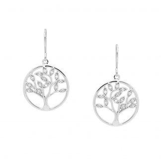 STG Tree of Life Hook Earrings_0