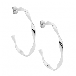 S/Steel Hoop Earrings_0