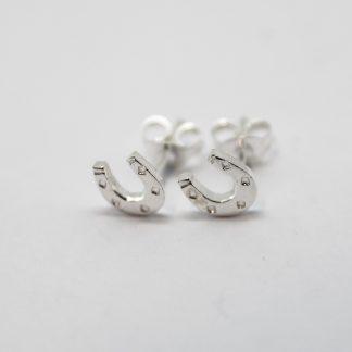 Stg/silver Stud Earrings_0
