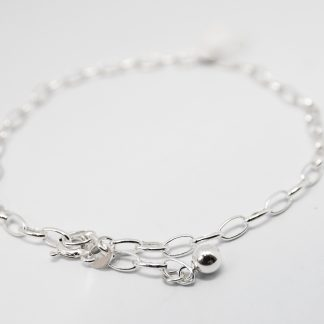 Stg Anklet with Heart_0
