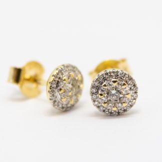 Diamond Stud Earrings_0