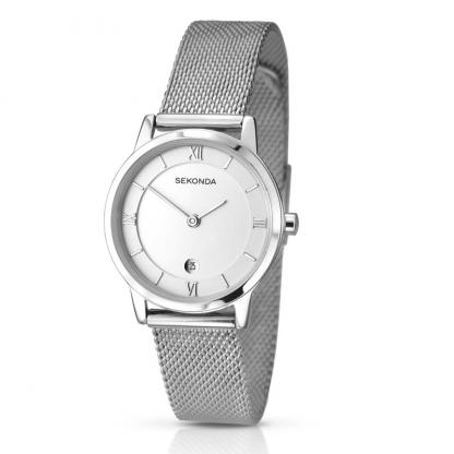 Sekonda Ladies Steel Coloured Watch_0
