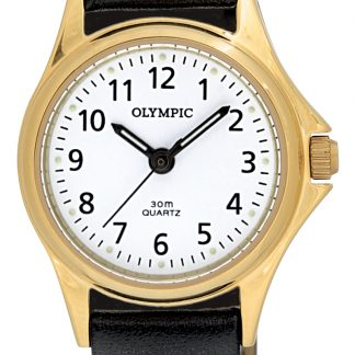 Olympic Ladies Gold Watch_0