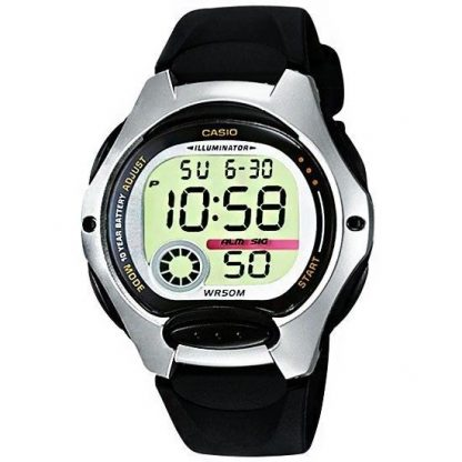Casio Ladies Digital Watch 50m W/R 10 Yr Battery_0