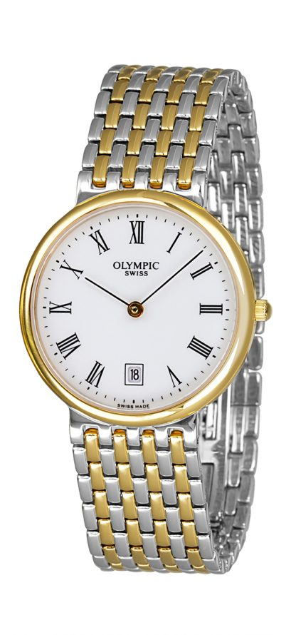 Olympic Gents Two-Tone Watch_0
