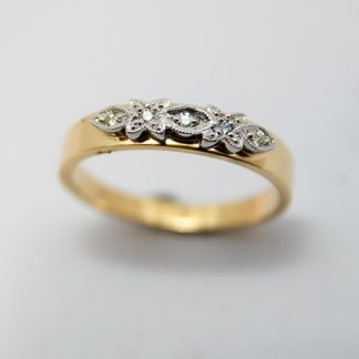 9ct Diamond Ring_0