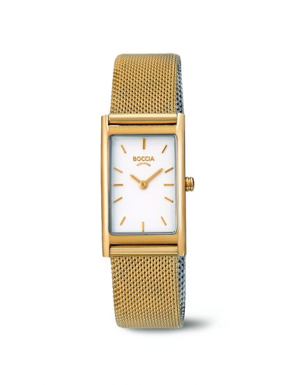 Boccia Gold and Silver Watch_0