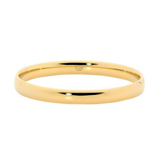 Stainless Steel Gold Plated Bangle_0
