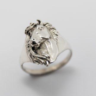 Stg Horse Head Ring_0