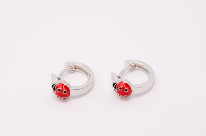 Stg/silver Huggie Earrings_0