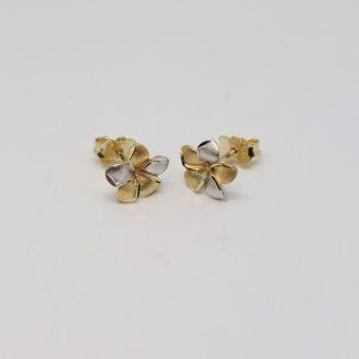 9ct 2-Tone Earrings_0
