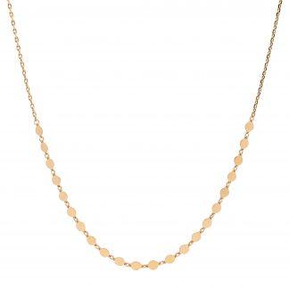 Ellani Gold Plate Necklace_0